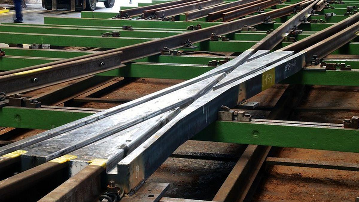 Amufer publica la EPD de un corazón de cruzamiento para vías ferrocarriles
