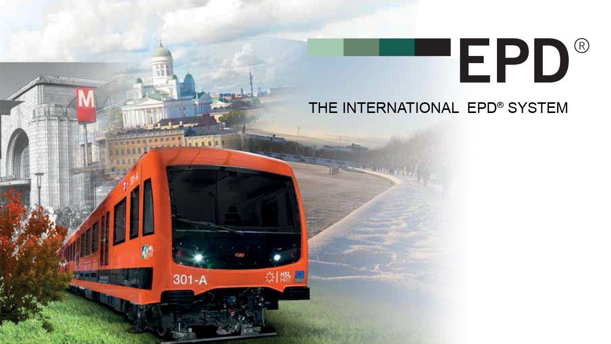 CAF desarrolla y verifica la EPD de la unidad de metro M300